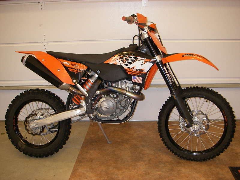 SOLD - KTM 450 XC-F 2008 - SOLD - OMRA Message Board